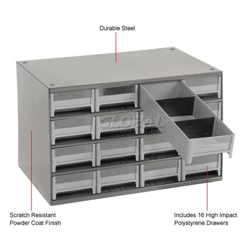 cabinets drawer akro mils steel small parts storage