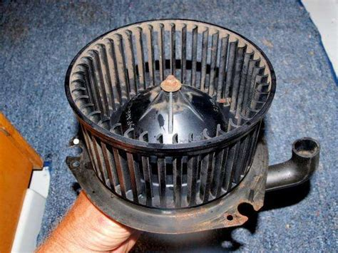 how to clean a squirrel cage fan how to get debris out of your chevy rv ventilation system