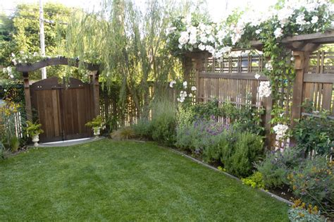 Landscape Fencing Pedersen Associates Residential Berkeley Ca Traditional