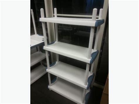 etagere plastik 201 tag 232 re plastique plastic shelf 4 sections montreal
