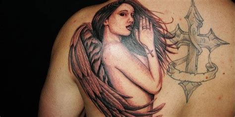 praying angel tattoos for men 50 tattoos for top designs for