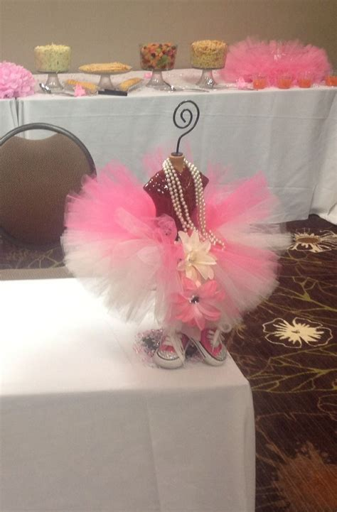 Tutu Themed Baby Shower Decorations by Tutu Themed Baby Shower Baby Shower Ideas