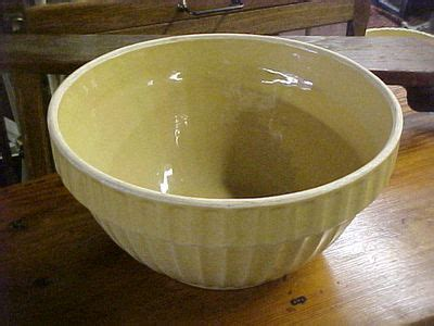 old white hoosier with yellow ware bowls bitchin in primitives hq price guide