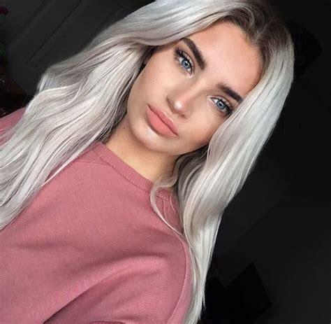 platinum silver hair color kimmyschram of platinum silver hair color