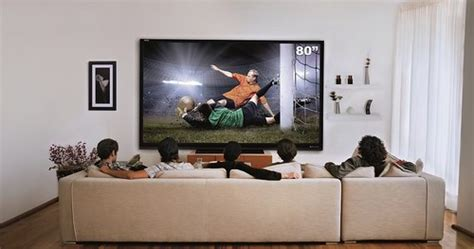 Living Room With 80 Inch Tv Www Cine4home De Test Sharp Le645 Lc80 Le645 80 Zoll