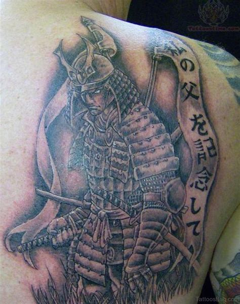 samurai warrior tattoo design 43 alluring japanese samurai tattoos for back
