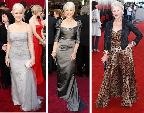 Style icon Helen Mirren ? Possibly the best dresses women over 40!