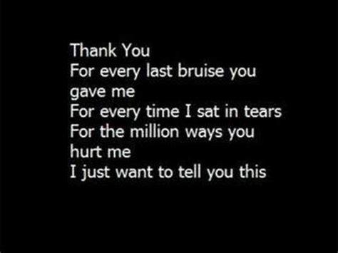 thank you testo thank you jamelia significato della canzone testo