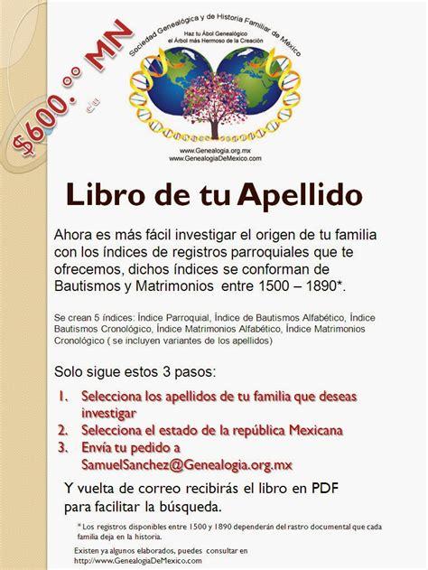 libro tu cajita de enigmas genealogia de san luis potosi genealogia slp 2802 libro de tu apellido
