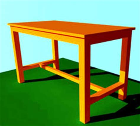desain meja dengan sketchup belajar menggambar meja dengan google sketchup