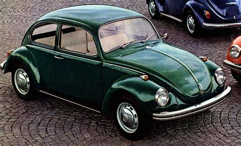green volkswagen beetle the 10 slowest cars of 1971 the daily drive consumer