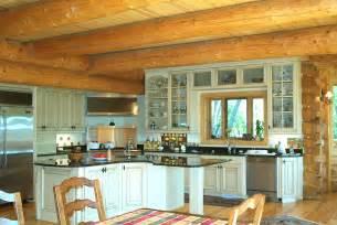 Kichen Home Custom Log Home Design Murray Arnott Design
