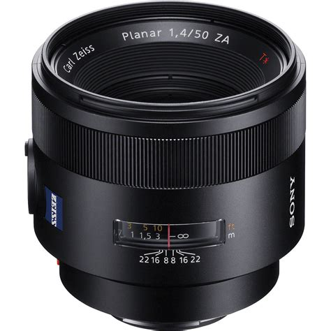 carl zeiss lens sony planar t 50mm f 1 4 za ssm lens sal50f14z b h photo