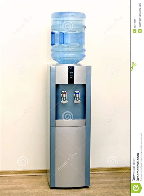 electric water cooler stock photo image of freshness