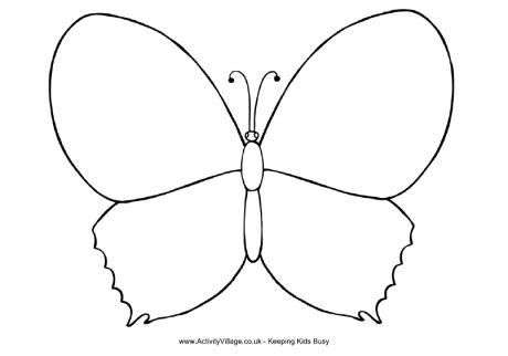 butterfly coloring page education com design a butterfly coloring page education pinterest