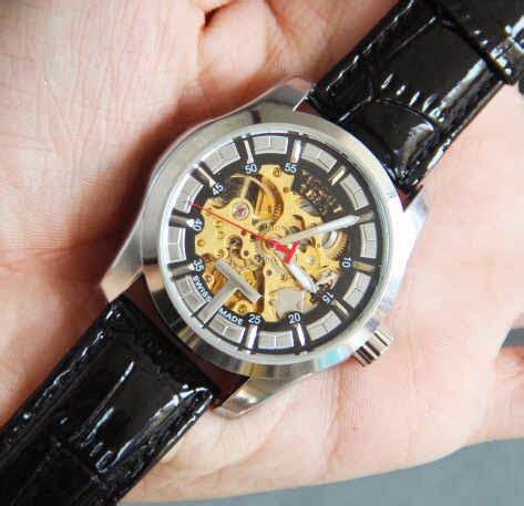 Jam Tangan Unisex Tayroc Wb1056 Black Plat White A T1310 4 jual jam tangan murah pria dan wanita berkhualitas tissot skeleton leather matic