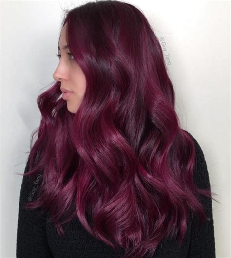 wine color hair fall 2016 colour trend merlot locks