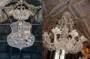 Chandelier Made Of Human Bones 6 Creepy Churches Made Of Bones Inhabitat Green Design