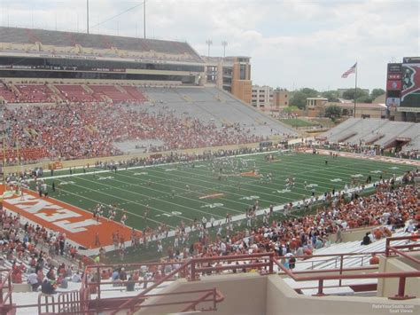 section eleven dkr texas memorial stadium section 11 rateyourseats com