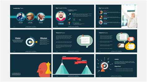 Think Business Presentation Template By Design Bundles Company Presentation Template