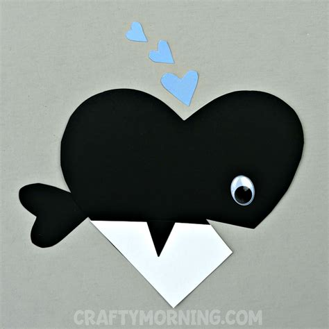 paper bag whale craft orca whale craft crafty morning