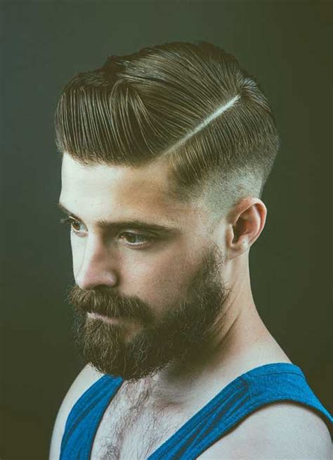 shaved in parting for boys 15 medium length haircuts for men mens hairstyles 2018