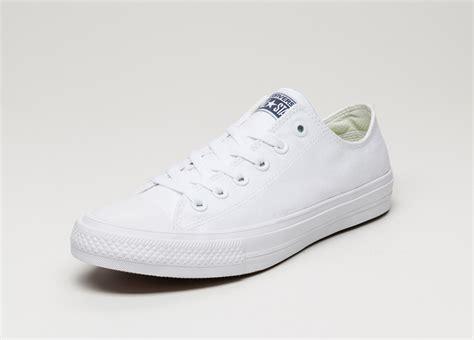 Converse Chuck All Ox 2 converse chuck all ii ox white white navy