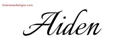 aiden tattoo design 28 aiden name designs aiden name