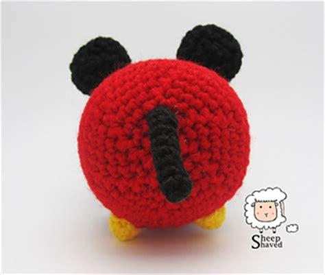 Pineapple Tsum Tsum ravelry mickey mouse tsum tsum pattern by sheep