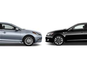 Kia Hyundai Hyundai Sonata Vs Kia Optima Compare Cars