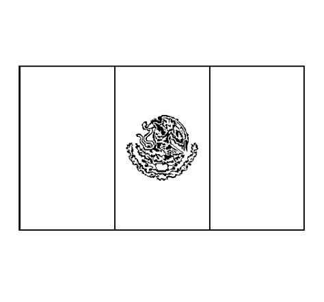 Mexican Flag Coloring Pages mexico coloring page