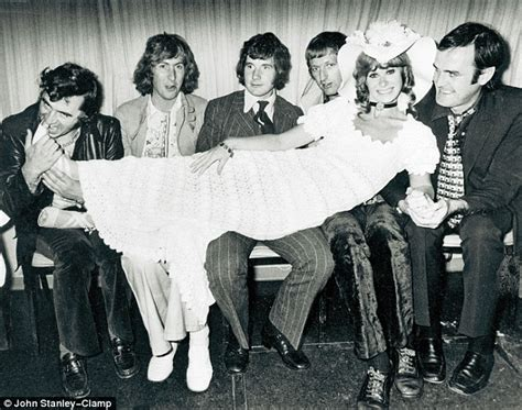 Monty Chair Monty Python John Cleese Was Flirty Michael Palin Shy