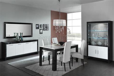 salle a manger noir et blanc salle 224 manger design noir et blanc laqu 233 e