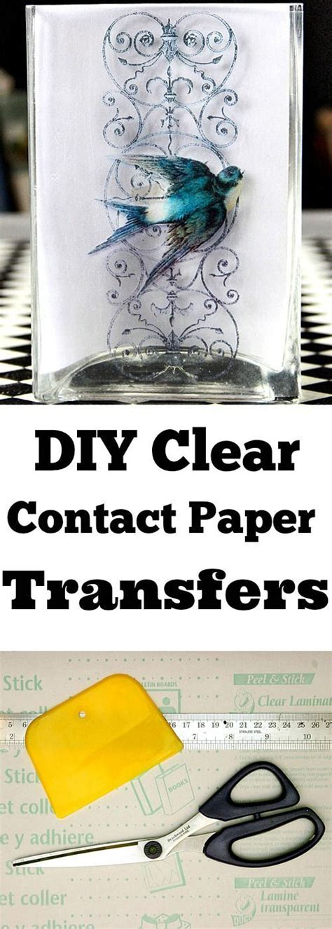 Clear Contact Paper Crafts - 17 best ideas about contact paper crafts on