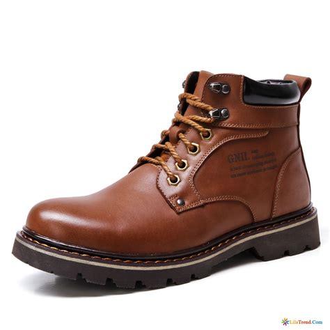 Schuhe Herren 3663 by Mode Boots Beige Herren Dunkelbraun Cargo Martin Stiehlt