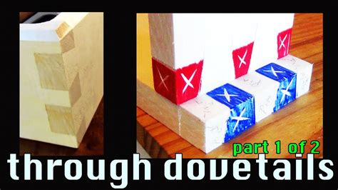 youtube dovetail layout how to cut dovetails by hand layout cutting the dovetail