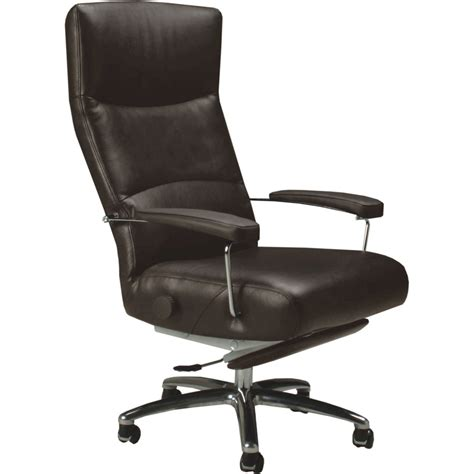 office chair recline josh leather executive reclining office chair zuri furniture