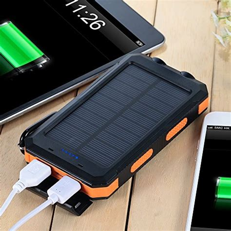 top solar charger best solar powered phone battery charger top 6 reviews