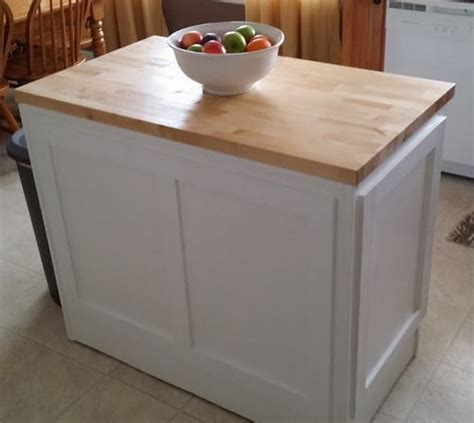 how to install kitchen island how to make a diy kitchen island and install in your