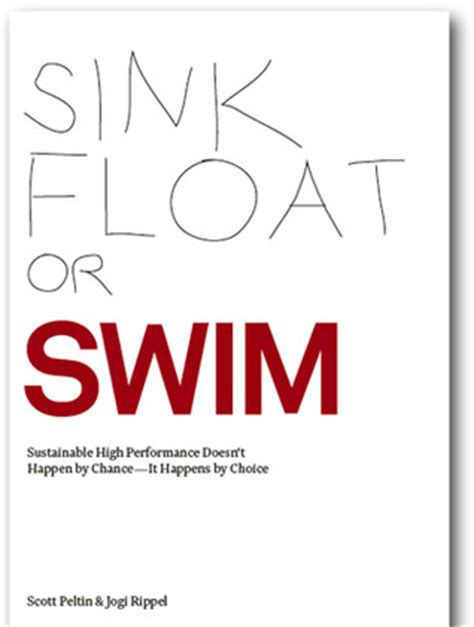 sink or swim book sink float or swim by scott peltin reviews discussion