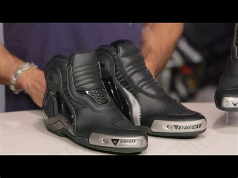 Dijamin Dainese D1 Dyno Shoes dainese dyno pro d1 shoes review at revzilla