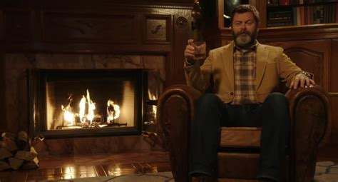 nick offerman drinking whiskey enhance any holiday gathering with nick offerman drinking