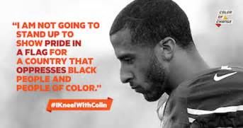 color of change color of change kneel with colin kaepernick