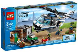 Lego Sets 2014 Lego City Helicopter Surveillance 60046 Set Photos