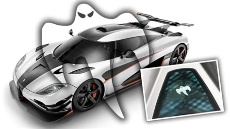 koenigsegg ghost why does koenigsegg have a ghost on all their cars