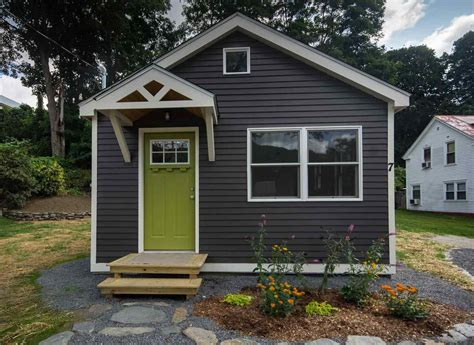 tiny house with tiny house with a basement for sale in rockingham vt