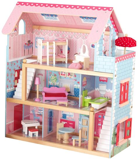 kidkraft chelsea doll cottage with furniture at best price
