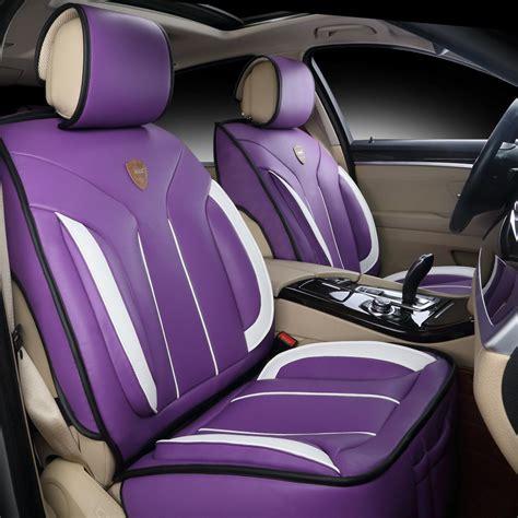 Car Seat Purplem car seat covers with car interior design