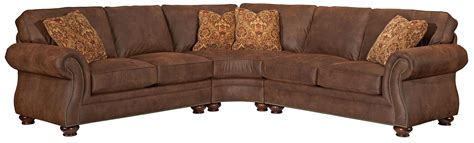 broyhill sectional sofa broyhill furniture laramie 3 wedge sectional sofa