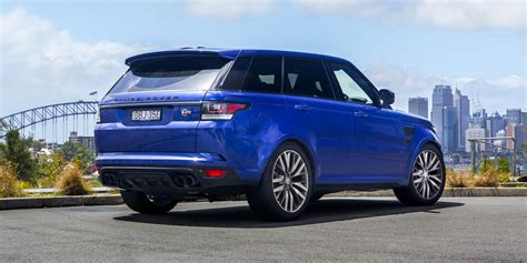 range rover land rover 2016 2016 range rover sport svr review caradvice